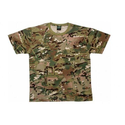 Highlander HMTC Camo T-shirt compatible avec Multicam Armée Cadets de l/'armée