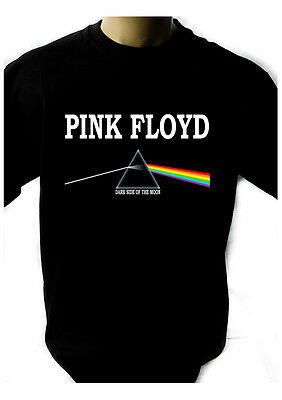 PINK FLOYD DARK SIDE OF THE MOON Black New T-shirt Rock T-shirt Rock Band Shirt