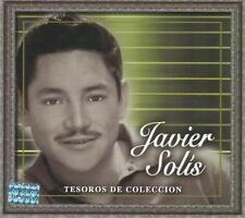 Javier Solis CD NEW Tesoros De Coleccion BOX SET Con 3 CDs 30 Canciones !