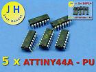Stk.5 x ATTINY 44 A mit/ohne DIP14 Sockel/Socket Mikrocontroller MCU AVR