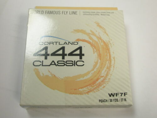 Cortland 444 Classic Flyline Peach ALL VARIETIES  Fly fishing