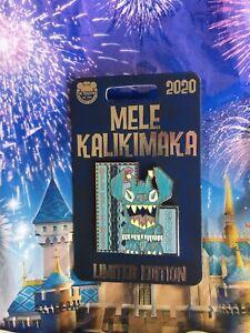 New Disney Parks 2020 Stitch Mele Kalikimaka Pin Hawaii Christmas LE 4000