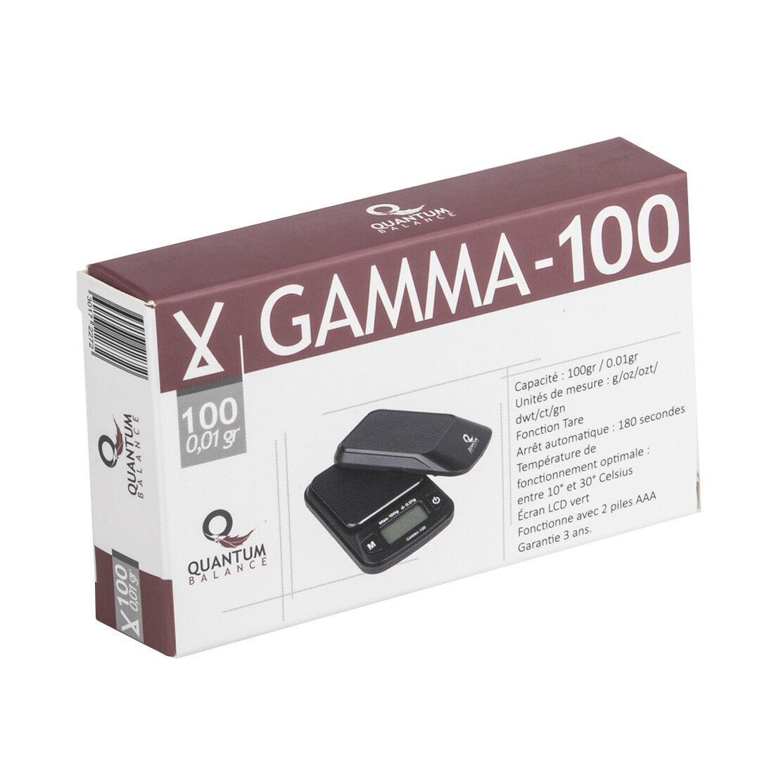 Balance Electronique QUANTUM Gamma 100
