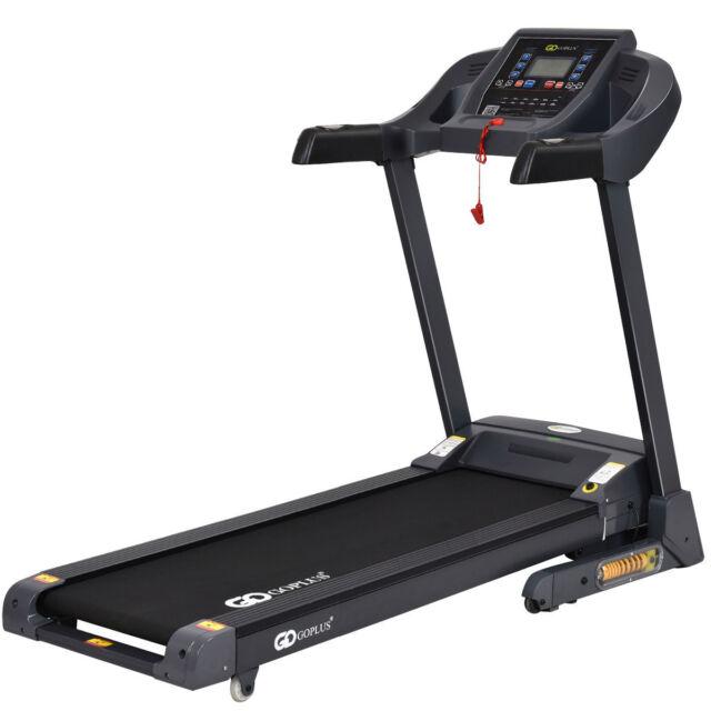 b76d75fcb1c 2.5HP Folding Treadmill Electric Support Motorized Power Running Fitness  Machine