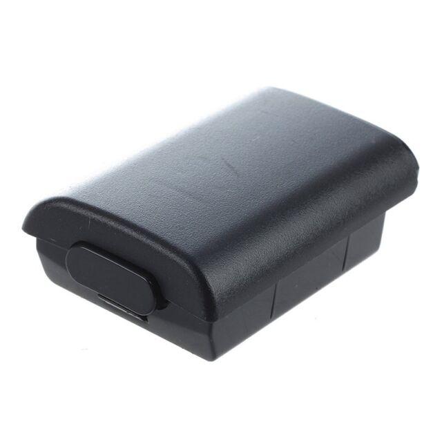 Couvercle Cache Etui Coque housse de Batterie NOIR Pour Microsoft Xbox 360 N4G5