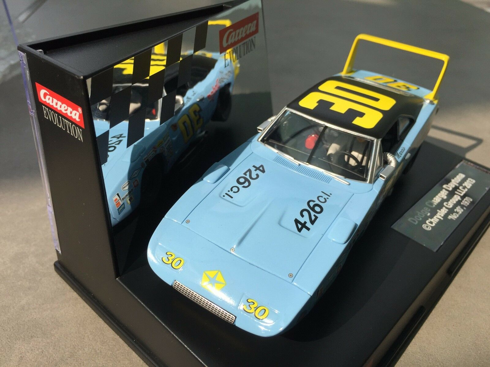 Carrera Evolution 27435 Dodge Charger Daytona   No. No. No. 30 1970 USA be5927