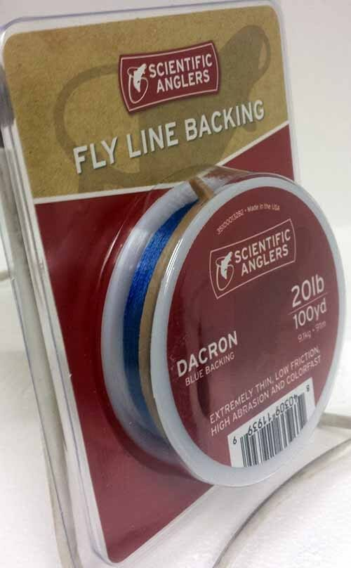Dacron Backing-Free nous Livraison environ 9.07 kg environ 91.44 m Scientific Anglers 20 lb Bleu 100 Yd