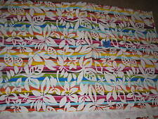 D Surf Wear Mfg Polyester Fabric Remnants 2 pcs  Hawaii Aloha Board Short  81S3