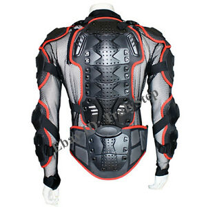 pare pierre rouge gilet veste moto protection enduro racing s m l xl xxl xxxl ebay. Black Bedroom Furniture Sets. Home Design Ideas