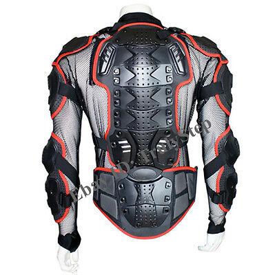 NEUF Pare Pierre NOIR Gilet//Veste MOTO Protection Cross Racing S M L XL XXL
