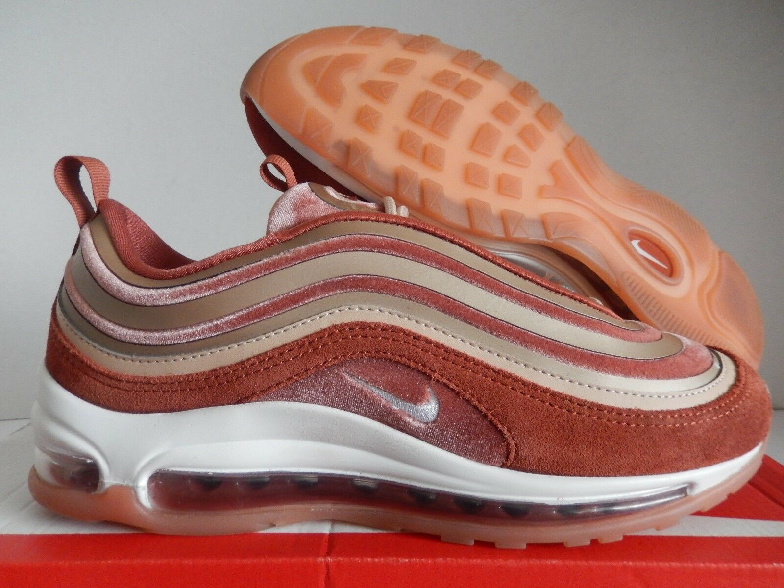 WMNS NIKE AIR MAX 97 UL ULTRA '17 LX DUSTY PEACH SZ 8.5 [AH6805-200]
