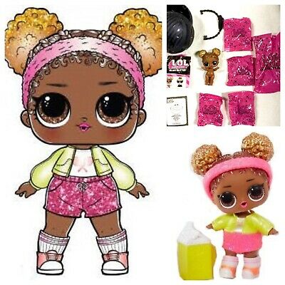 Baby Doll~Sealed w// Ball LOL Surprise Glam Glitter IT BABY New Authentic L.O.L