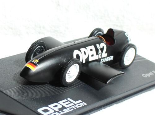 Opel rak 2 1928 negras 1:43 Ixo//Altaya maqueta de coche la// Cast