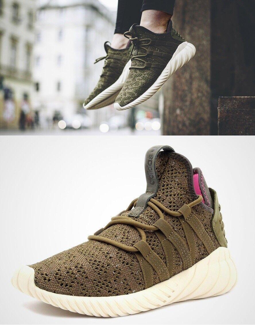 Neue adidas tubuläre dawn spur frauen 8 / 8,5 trail run schuhe turnschuhe fracht grün