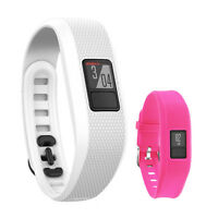 Garmin Vivofit 3 Activity Tracker Fitness Band W/ Replacement Band (rose) on sale