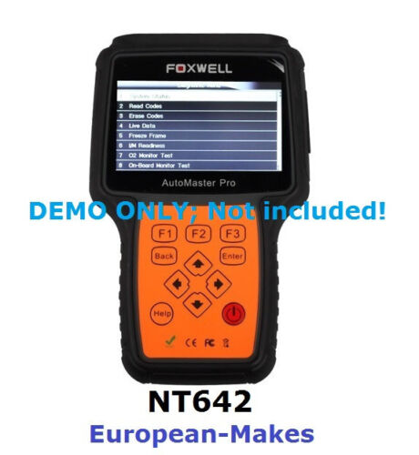 OBD2 OBDII Cable FOXWELL Scanner NT640 NT641 NT642 NT643 NT644 Pro Code Reader