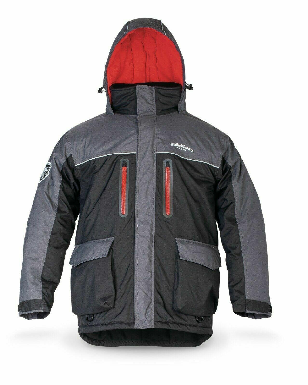 **New Strikemaster Ice Fishing Battle Jacket (XL/BLACK) SBJ-XL
