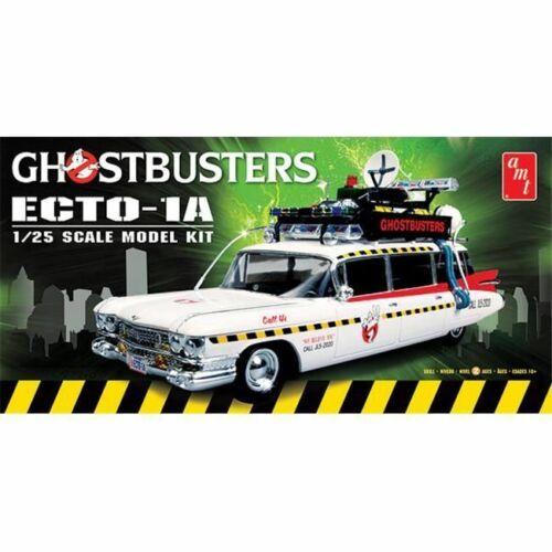 Ghostbusters Ecto 1-A Cadillac Ambulance 1:25 AMT Model Kit Bausatz AMT750 1 A