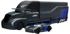 Pixar-Cars-3-Jackson-Storm-transformar-Hauler-Play-2-Cars-Aleacion-Juguete-Disney