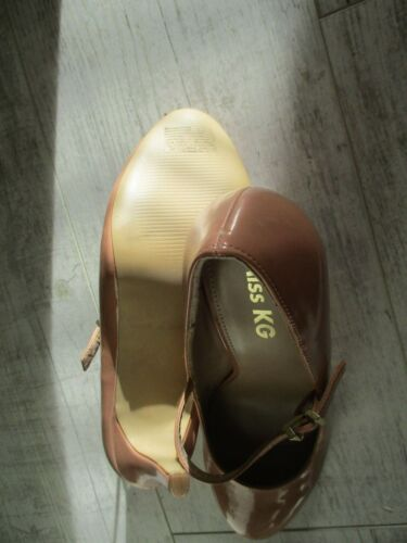 4 Janes Mary Miss Geiger Buckle Eu37 Ladies Patent Kg Kurt New Shoes Peach Uk wxXzCAq5nI