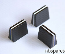 3x Replacement Pioneer Fader Cross Fader Knobs DDJ SR SX XDJ R1 DJM 250