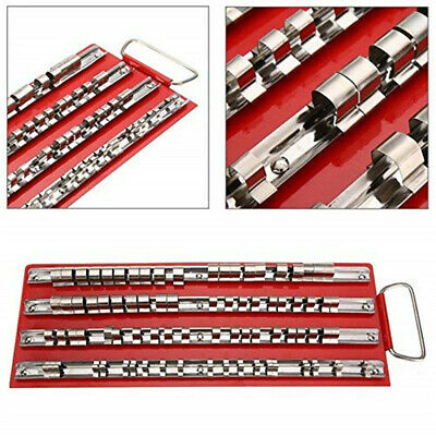 """One set each 1//4/"""" 3//8/"""" 1//2/""""   Socket Holder Organizer Trays They Snap together"""