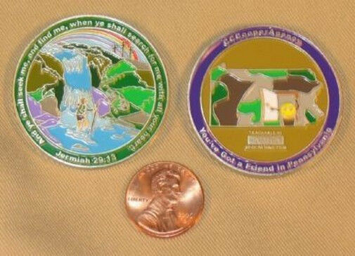 CCCooperAgency UNACTIVATED  Gold Limited Edition geocoin
