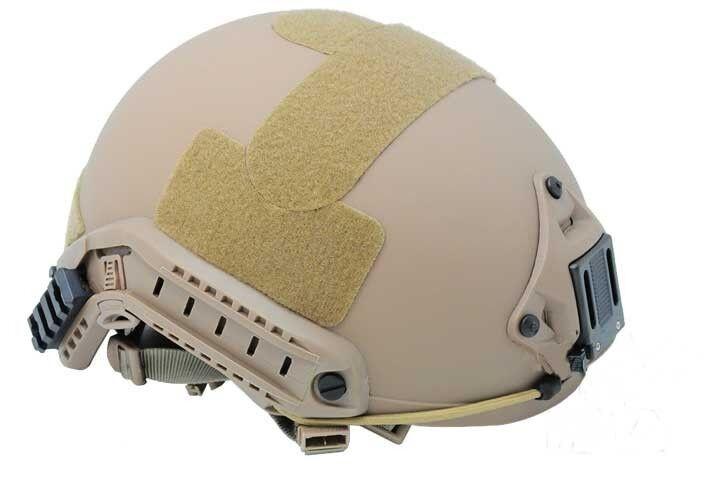 COOL New Airsoft CS Predective FMA Ballistic Helmet DE PA326 L XL