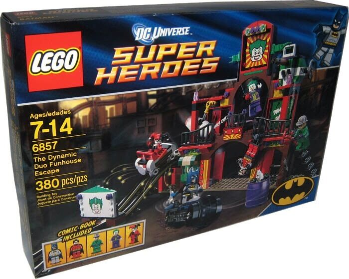 LEGO DC Universe 6857 The Dynamic Duo Funhouse Escape  - New, Unopened