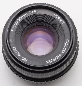 PORST-color-reflex-CN-AUTO-f-1-2-2-50-mm-50-mm-Pentax-PK