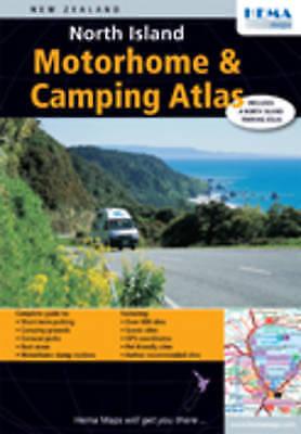 (very Good)-north Island Motorhome And Camping Atlas (map)--1877302562 Hoge Kwaliteit En Goedkoop