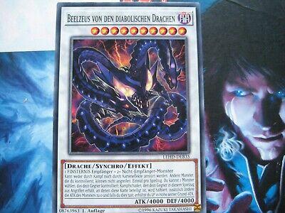 Beelzeus Von Den Diabolischen Drachen LEHD-DEB35 Yu-Gi-Oh Top Synchro Drache