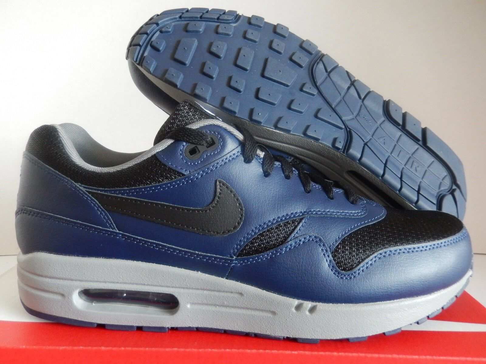 NIKE AIR MAX 1 ID NAVY BLUE-BLACK-GREY Price reduction Seasonal price cuts, discount benefits