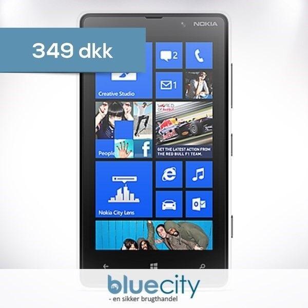 Nokia Nokia Lumia 820 Hvid, Nokia Lumia 820 Hvid