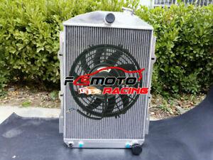 5 ROW Aluminum radiator for CHEVY HOT STREET ROD 350 V8 1938 38 automatic AT