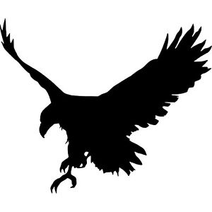 LARGE-Tribal-Hawk-Eagle-Bonnet-Sticker-Attacking-Claws-Vinyl-Decal-Sticker-39