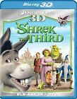Shrek The Third 3d W DVD WS Dub Fre 3-d With Mike Myers Blu-ray