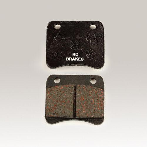 Kart Bremse Bremsbelag Bremsbeläge hart bronce  KC55//100//200 Paar break pad