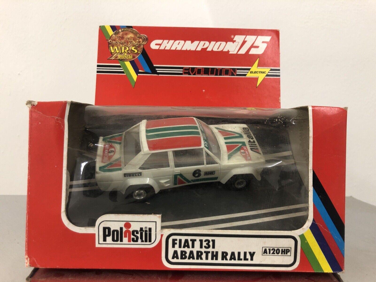 POLISTIL Policar Slot  Car 131 Abarth Rally Hp 1 32 Nuova In Box