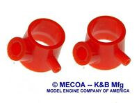 Cox Engine .010 Td Venturi Mount Red 2 Pcs