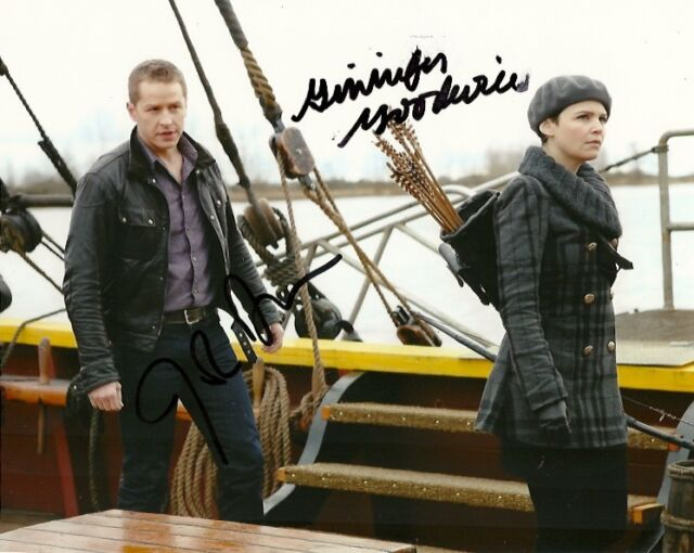 Once Upon A Time Josh Dallas Ginnifer Goodwin Autographed Signed 8x10 Photo COA