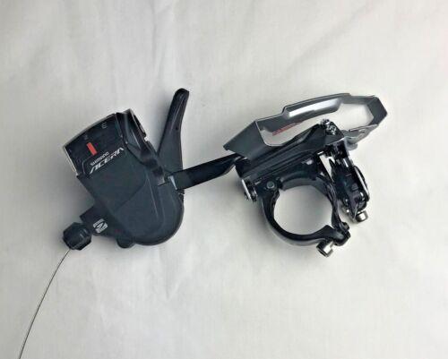 Shimano Acera Front Derailleur FD-M3000-TS and Gear Shifter SL-M3000