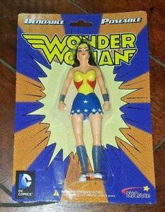 DC Comics Justice League Wonder Woman Action Figure Posable NEW