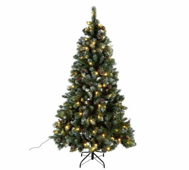 Home 6ft Oscar Pre Lit Christmas Tree Green For Sale Online Ebay