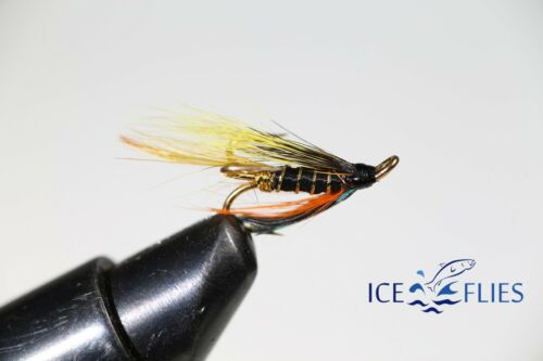 Pick a size 3-pack Salmon Fly Treble Hook. Munroe´s killer