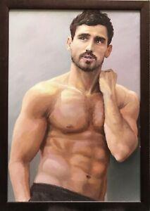 Nude boy model Category:Nude or