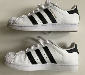 7 para mujer Blanco Adidas negro Floor Originals 5 Sneaker blanco Model Superstar 8wEZwq0