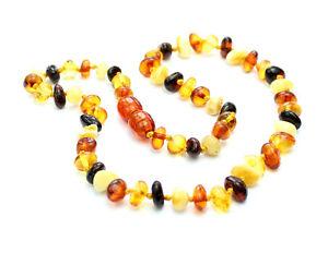 100-Genuine-Baltic-Amber-Beads-Child-Necklace-MIX-UK-distributor-NE0029
