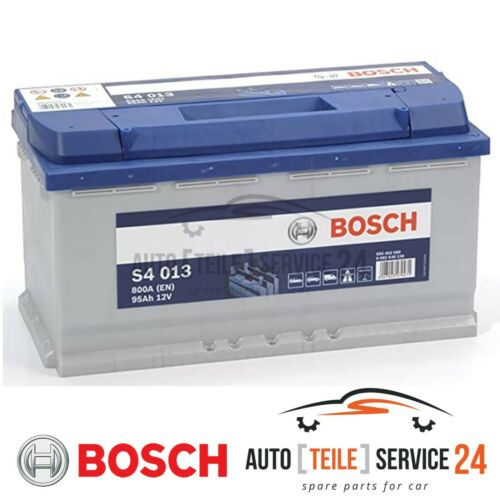 Bosch Starterbatterie S4 013 Auto batterie Akku 800A 95Ah für Audi Bmw Mercedes