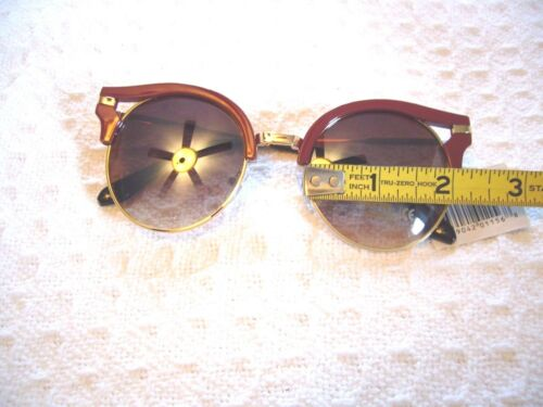 "LADIES SUNGLASSES  /""JOHN LENNON CLASSIC ROUND TYPE/"" FOR WOMEN FREE CASE UV-400"